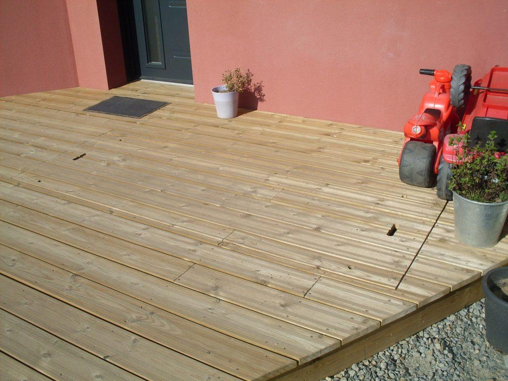 Aménagement jardin – Terrasse bois