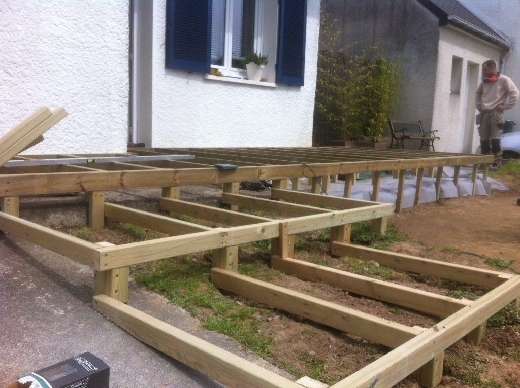 terrasse bois rez 44 loire atlantique demande de devis am nagement de jardin sur nantes. Black Bedroom Furniture Sets. Home Design Ideas