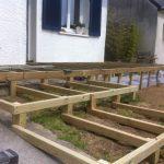Terrasse bois démontable