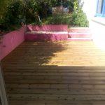 Terrasse pin traité – Nantes chantenay – 44 loire-atlantique