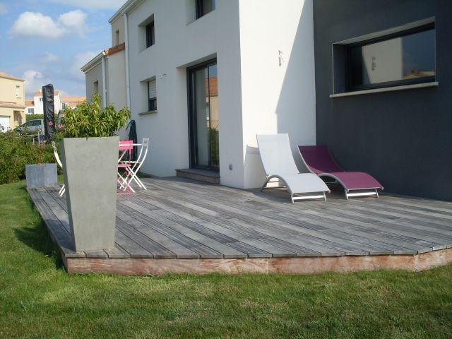 terrasse bois exotique au loroux bottereau 44 loire atlantique devis terrasse loroux. Black Bedroom Furniture Sets. Home Design Ideas