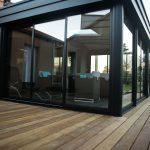 Terrasse sur mesure en bois exotique (cumaru)