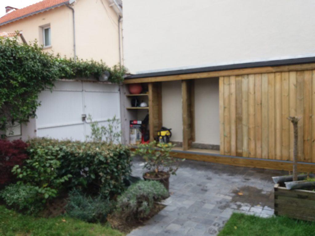 Cabane abris de jardin en bois par 15n menuiserie for Abri de jardin nantes