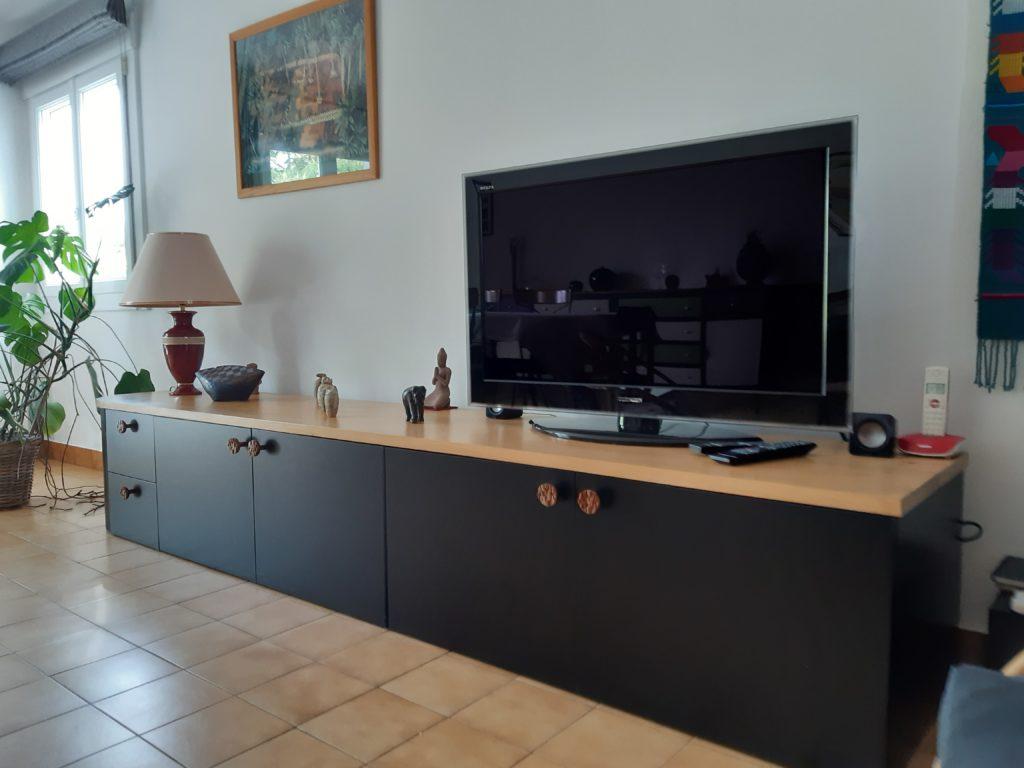 meuble télévision 3 mètres